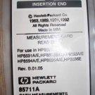 Agilent (HP) 85711A CATV Measurement Card HP 8590B