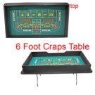Six Foot Craps Table