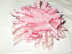 Pink Korker Hairbow