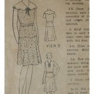 Excella #3192 Sz 12 Girls Dress Pattern c.1920 NEVER USED
