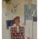 McCalls #3151 Woman's Sz 40 Jacket Pattern c. 1939
