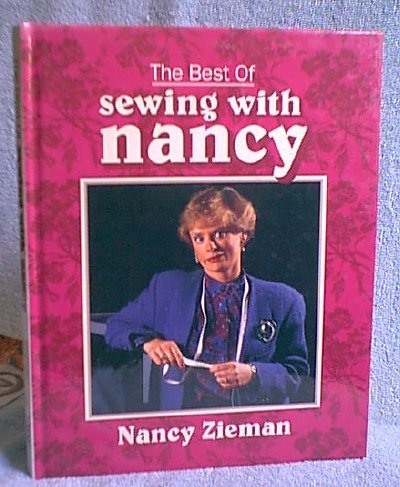 Best of Sewing with Nancy HB Book by Nancy Zieman