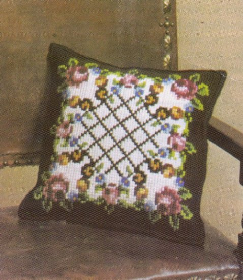 Smyrnalaine Needlepoint Kit ~ Fleur De Paris