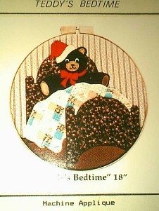 Teddy~s Bedtime Quilt / Applique Pattern