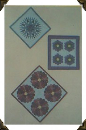 Quilt Pattern ~ No Piecing Mini Quilts