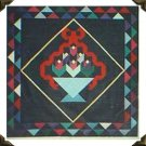 Ribboned Tulip Basket Quilt Pattern