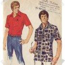 Simplicity #6368 Mens Shirt Pattern Sz Med