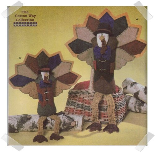 Simplicity #7341 Thanksgiving Turkey Pattern