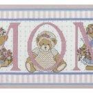 Candamar Designs ~ MOM Teddy Bears Cross stit