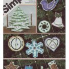 Simplicity #5635 Chritmas Tree Ornaments Patt