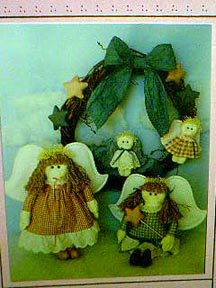 Angels and Cherubs Pattern by Soft Stuff