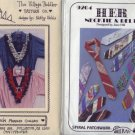 Fringed Collars & Ties Accessory Patterns ~ Really Fun