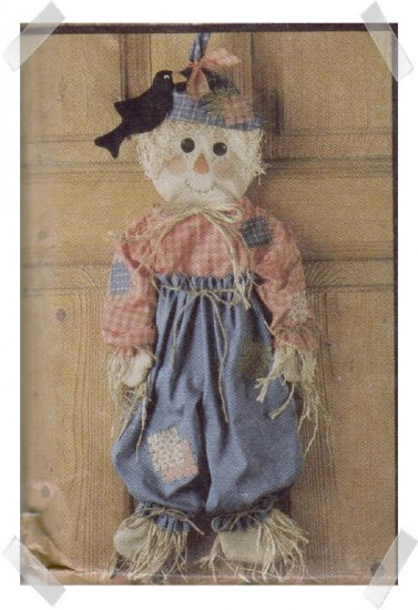 McCalls #6665 Cute Halloween Scarecrow Pattern