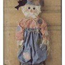 McCalls #6665 Cute Halloween Scarecrow Pattern