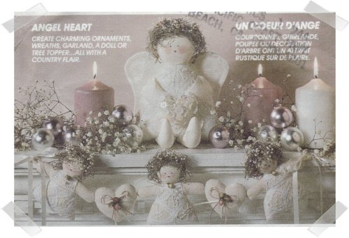 McCalls #6819 Christmas ANGEL HEART Pattern