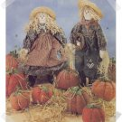 McCalls #7808 Halloween & Fall Mr & Mrs Scarecrow