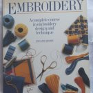 Embroidery Design & Technique Book by P. Brown
