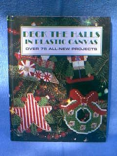 Deck The Halls Plastic Canvas Hardback Book