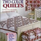 Two-Color Quilts Soft Cover Book by Nancy Martin