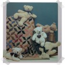 Teddy Bear Magic Pattern Applique Quilt Pattern