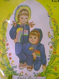Little Darlings Child's Jacket Sz 3-4-5-6