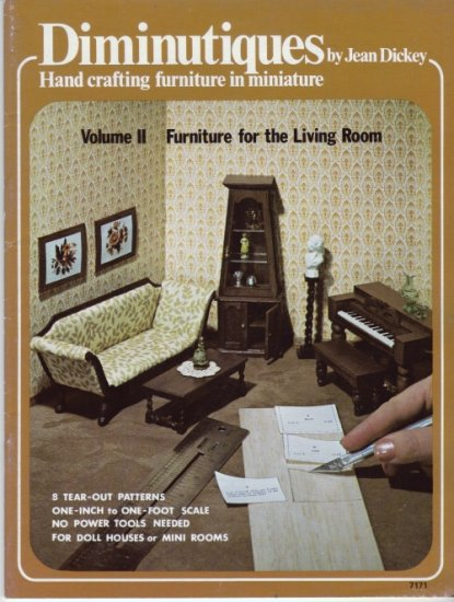 Diminutiques Living Room Furniture Vol. II by Jean Dickey