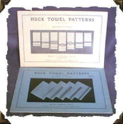 Huck Towel Embroidery Pattern Booklets Yrs 1936 & 1937