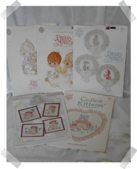 Cross Stitch Books DREAMSICLES & PRECIOUS MOMENTS