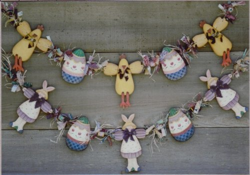 Country Faces Folk Art Tole Pattern ~ Easter