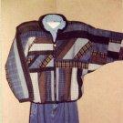 Eileens Design Studio Pattern ~ Medley Maze Quilted Jacket Sz SM - Med - Lg - XL