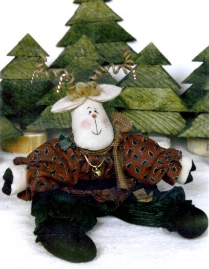 Bonnie B Buttons Pattern #675 ~ Reindeer Game
