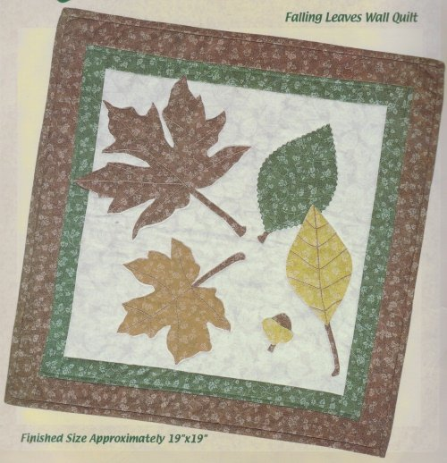 Quilt Sensations Quilt Kit ~ Falling Leaves