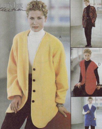 McCalls #9565 3 Hour Jacket Vest & Pants