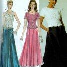 Simplicity #7436 Jessica McCLintock Woman's Evening Dress Sz 6 - 8 - 10