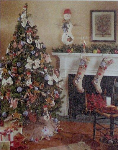 McCalls #7285 LET IT SNOW Christmas Pattern