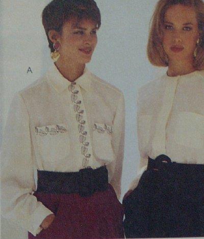 McCalls Nancy Zieman Blouse Pattern #5519 Woman's Size 12