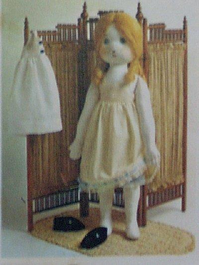 Simplicity #6006 Holly Hobbie Stuffed Doll Pattern