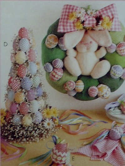 McCalls Spring has Sprung Easter Decorating Pattern