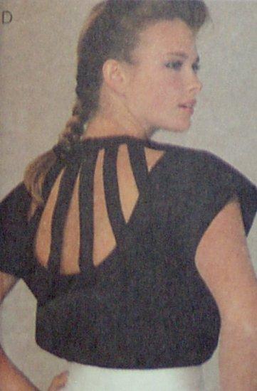 McCalls #9005 Womans Blouse Pattern Sz 14