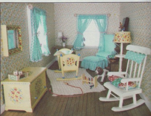 Vogue Pattern #1772 ~ Doll House Beautifuls Accessories Pattern
