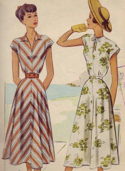Vintage McCall 7286 Dress Pattern Sz 14