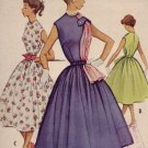 Vintage 1950's McCall #8954 Junior Dress ~ Sz 13  UNCUT