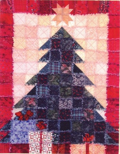 Quilt Pattern ~ Oh Christmas Tree Quilted Wall Hanging