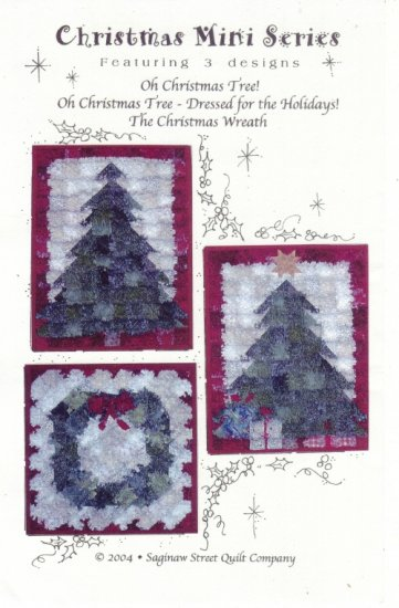 Quilt Pattern ~ Christmas Mini Series
