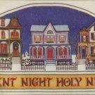 Bucilla Christmas Stichery Picture ~ Silent Night Cross Stitch Kit