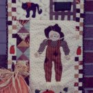 Sew Cherished Pattern - Fall Patchwork Halloween or Fall Wall Hanging