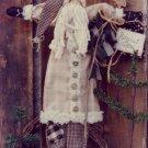 Heart to Hand Patterns - Deer Santa Soft Scultptured Wall Hanging
