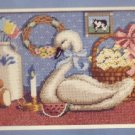 Dimensions Needlepoint Kit ~ Country antiques