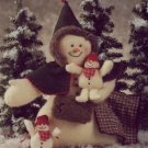 Indygo Junction Patterns - Mrs Snappy & Snowbabies Soft Sculpture for Christmas or Winter