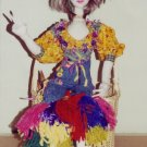 Patti Medaris Culea Pattern - Ervilla Soft Scultured HIPPIE Doll
